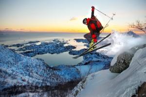 Lofoten ski2