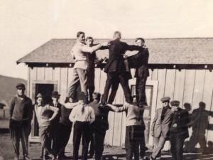Fysisk fostring var viktig på de amerikanske folkehøgskolene, akkurat som på de nordiske