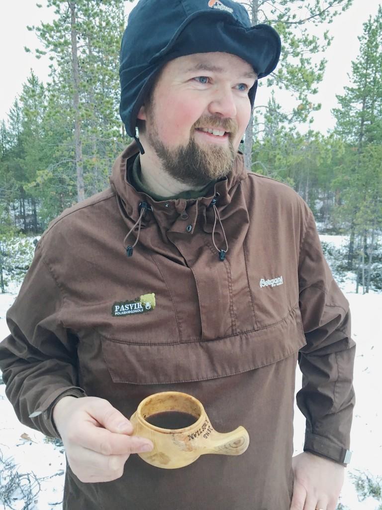 Jens Kristian Baustad, lærer på Pasvik folkehøgskole i Finnmark