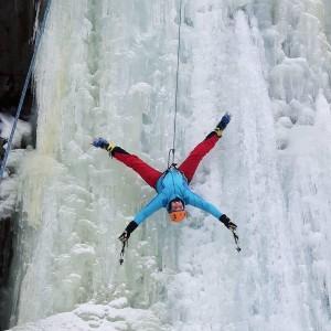 Har du noen gang prøvd isklatring? Kanskje dette er noe du skal prøve til neste år?